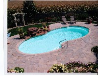 Atlantic Fiberglass Pool in Clermont, FL